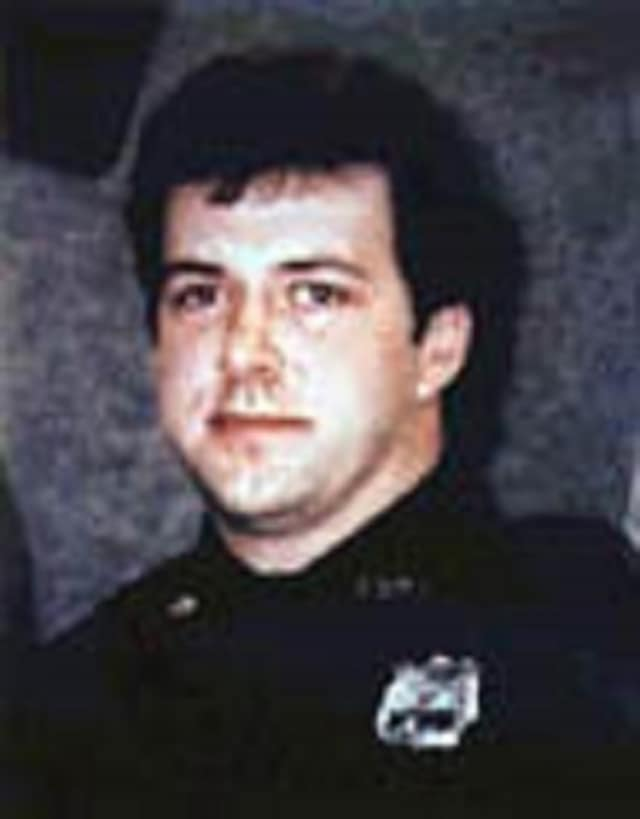 Eastchester Police Officer Michael Frey was just 29 and a newlywed when he was ambushed in 1996 and shot dead by a sniper while on a domestic violence call.