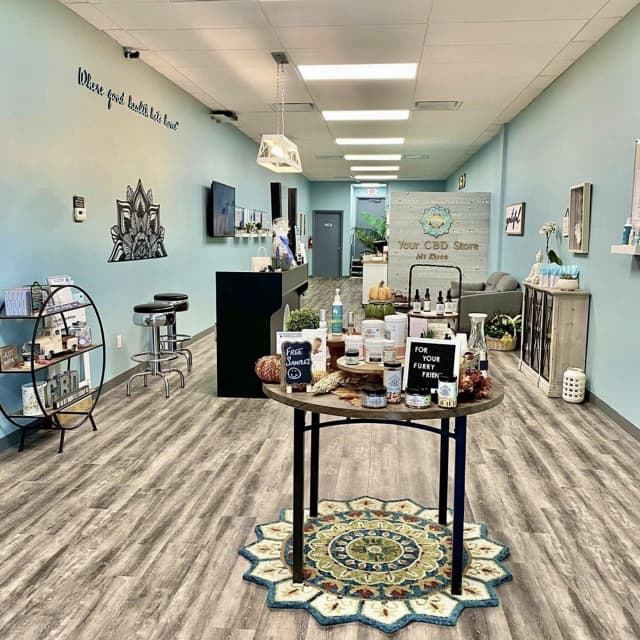 The interior of the 679th Your CBD Store location that just opened in Mount Kisco.