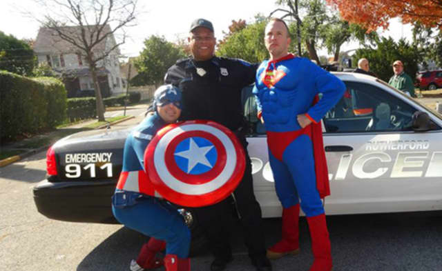 Emergency responders ready to suit up for Rutherford Halloween Foot Pursuit 5K.