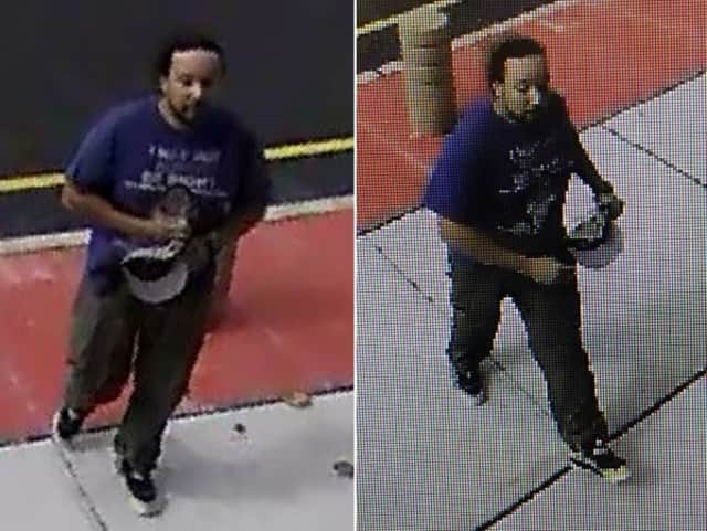 Anyone who knows or sees the man in the photo, or has info that can help find him is asked to call Garfield police: (973) 478-8500.