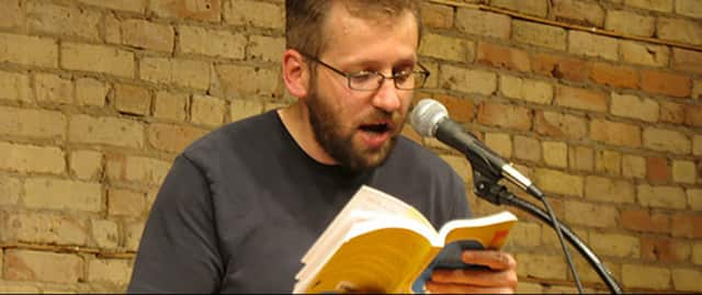 Award-winning author of young-adult novels Geoff Herbach will appear, via Skype, at a discussion Wednesday, Dec. 9, at the Mamaroneck Library.