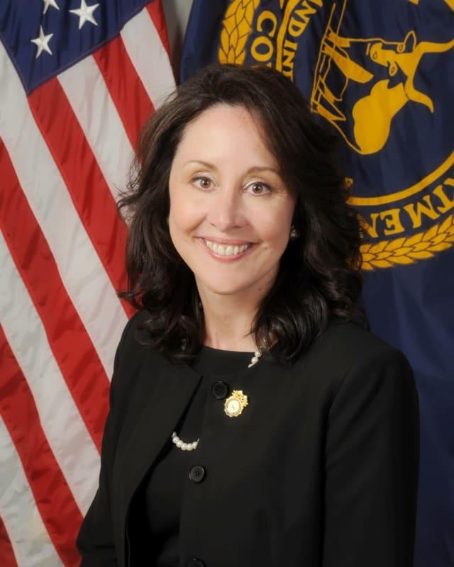 Suffolk County Police Commissioner Geraldine Hart