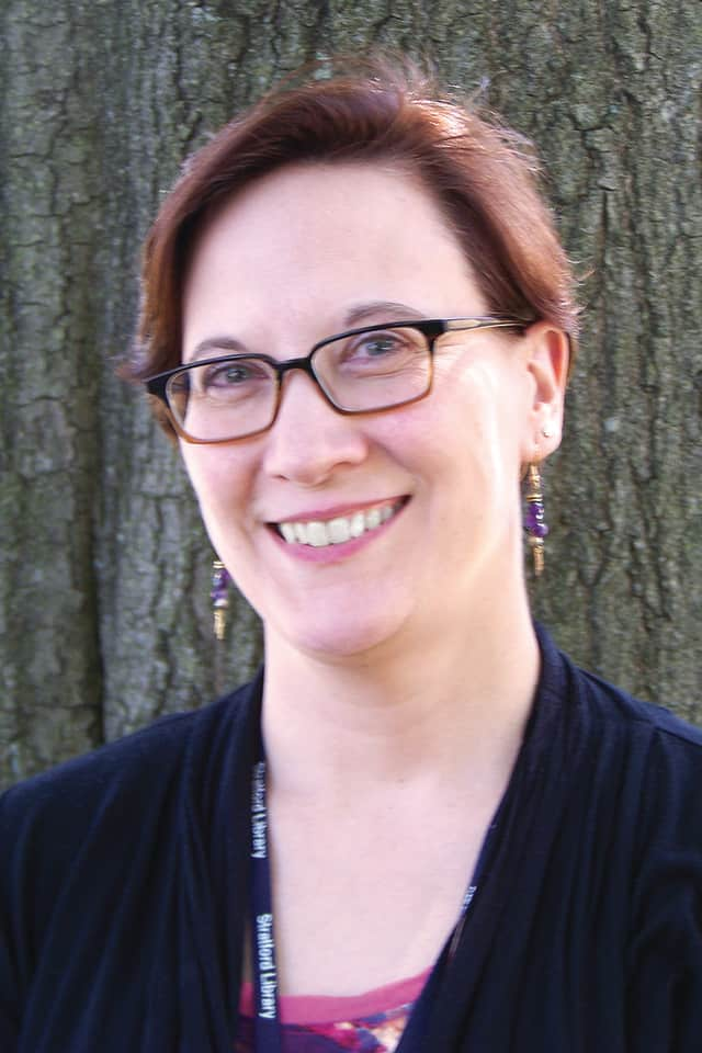 Geri Diorio is the new assistant director of the Stratford Public Library.