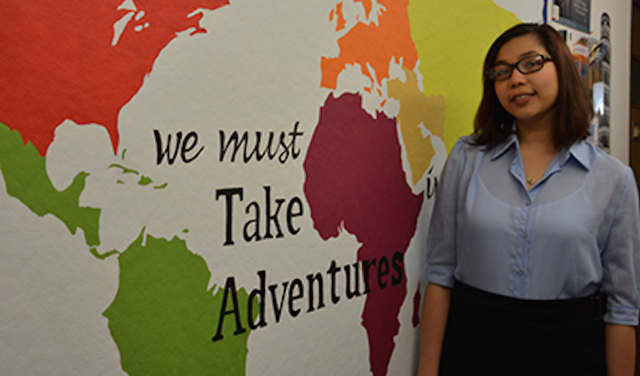 Alyssa Medina, a biology major at The College of New Rochelle, has received the Benjamin A. Gilman International Scholarship to study abroad in Costa Rica this summer.