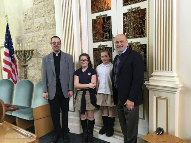 """These Chapel School sisters served as """"Pastors for the Day"""" at Village Lutheran Church in Bronxville."""