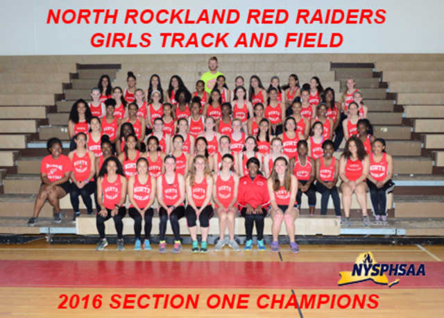North Rockland High School's track teams, including the girls team, had an outstanding year, capturing three championships.