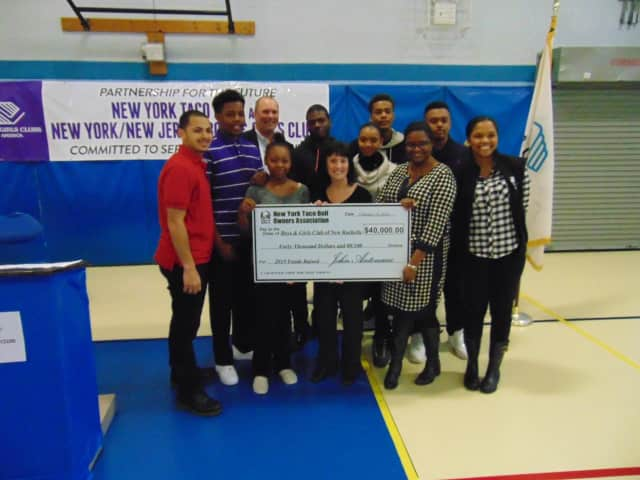 The Boys & Girls Club of New Rochelle received a $40,000 grant.