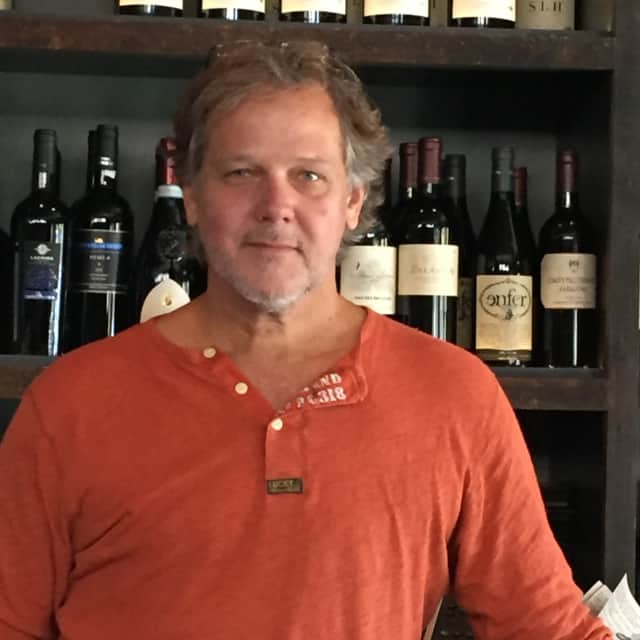 Joe Printz, owner of Sparkill's Grape D'Vine and D'Vine Bar.