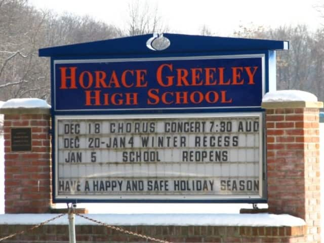 The Horace Greeley High School ceremony honored students for outstanding accomplishments in academics and service to school and the community.
