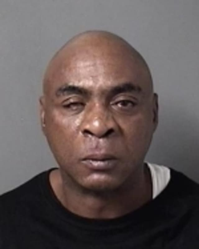 New York State Police arrested Darryl G. Greenfield for damaging property in his former girlfriend's home and resisting arrest.