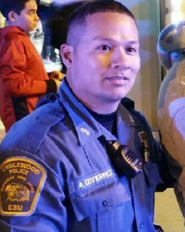 Englewood Police Officer Adolfo Gutierrez