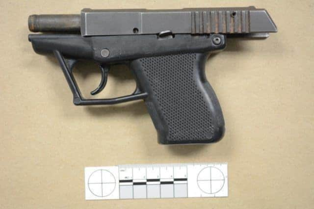 Norwalk Police say a minor arrested on charges of possession of crack and a loaded .380-caliber handgun.
