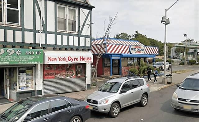 New York Gyro House restaurant, Broadway, Paterson