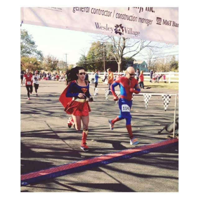 The Wesley Village 5K encourages walkers and runners to come in costume.