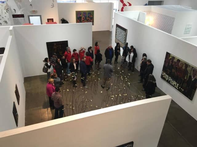 """The Valley Center for Contemporary Art in Peekskill will present a performance work, """"Madness & Nudity: Women in Art,"""" by local artist Marcy B. Freedman May 7."""