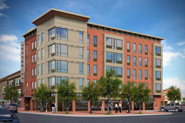 Rendering of the new project at 76 Main St.