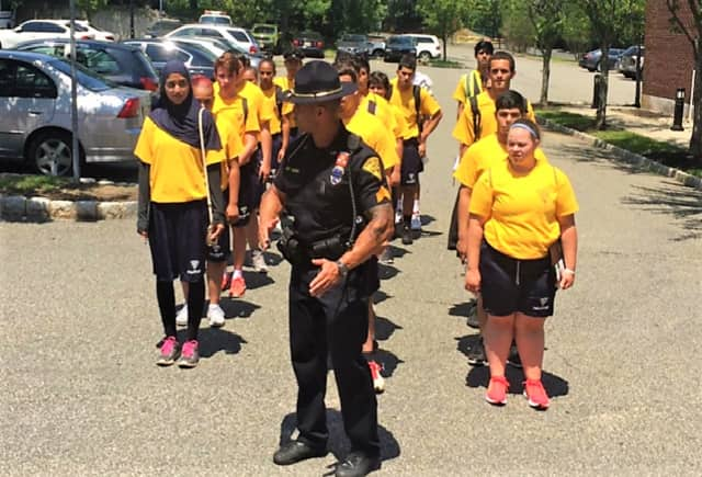 The cadets underwent physical training, as well.