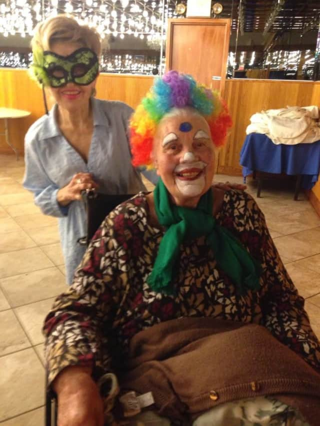 The Westchester County Office for the Aging held a Halloween party for senior citizens.