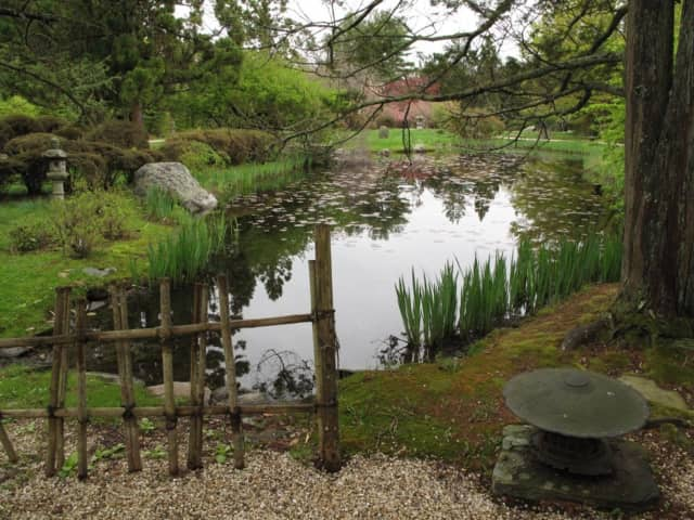 The Hammond House Museum and Japanese Stroll Garden in North Salem