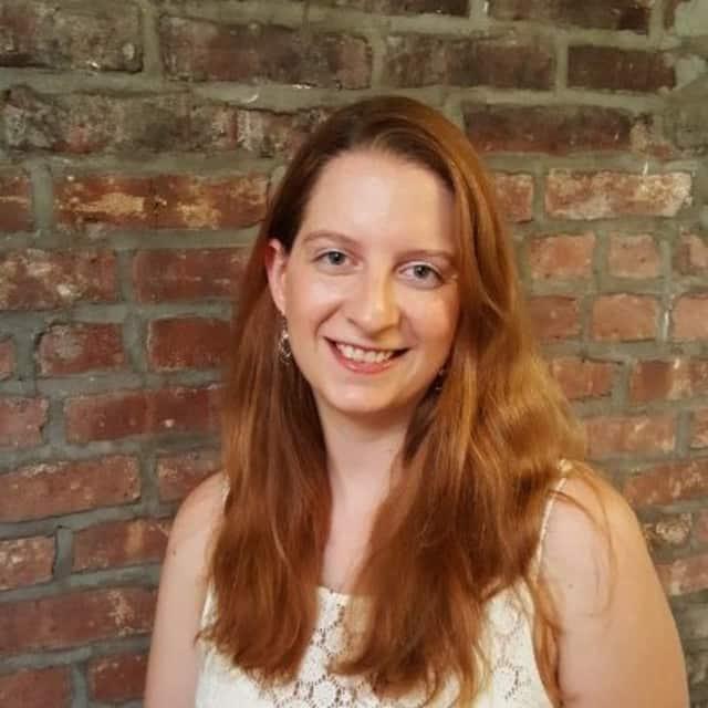 Pace alumna Hannah Bennett.