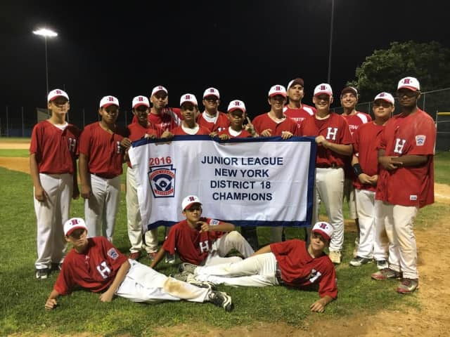The Haverstraw Junior Little League All-Stars won the District 18 championship.
