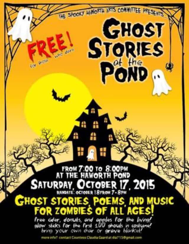 Come to Ghost Stories at the Pond for a night of ghostly fun.