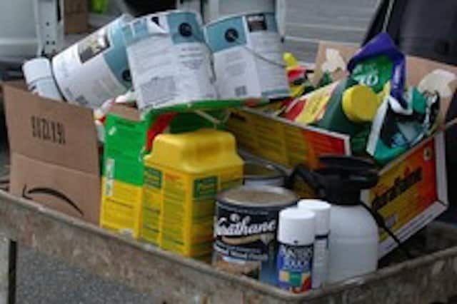 The Bergen County Utilities Authority will collect household hazardous waste at Campgaw Mountain Reservation in Mahwah Saturday, Sept. 12 from 9 a.m. - 3 p.m., 200 Campgaw Rd.  Bring all your nasty stuff down for safe disposal.