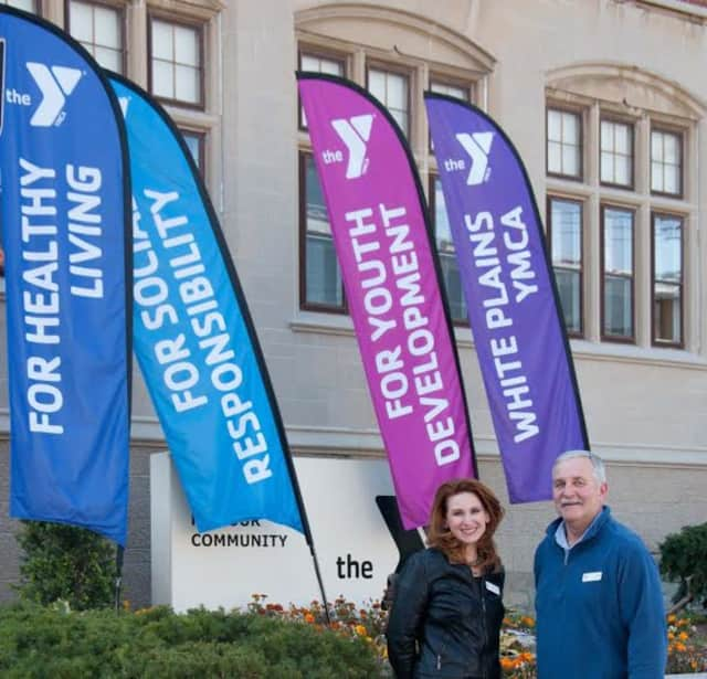 Heather Bell-Pellegrino, left, the Associate Executive Director of the White Plains YMCA, and Executive Director Tom Hay will keep the facility closed on Thanksgiving so that employees can spend the day with their families.