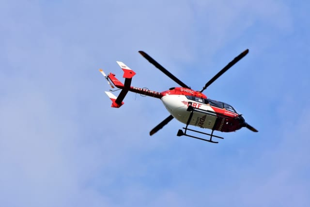Residents oppose the noise helicopters make flying over their homes in the Hamptons.