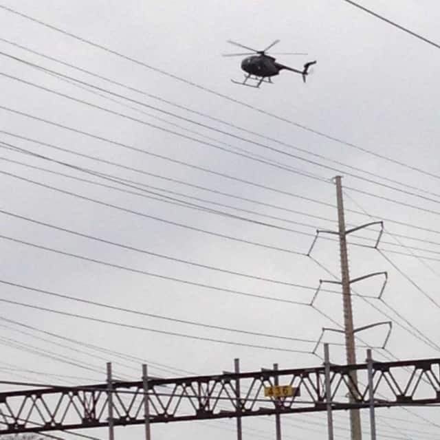 Eversource will use a helicopter to survey transmission lines this week.