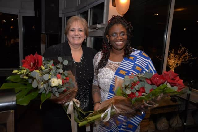 The Hudson Gateway Association of Realtors installed Dorothy Botsoe, right, as its new President Renee Zurlo as President of the Hudson Gateway Multiple Listing Service.