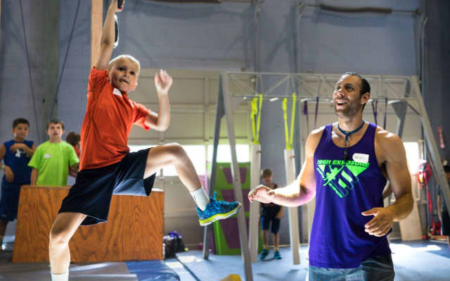 High Exposure recently hosted American Ninja Warrior camps for children.