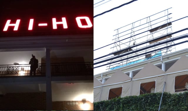 The iconic Motel Hi-Ho sign just off the Merritt Parkway's Exit 44 in Fairfield is being replaced by a modern LED version.