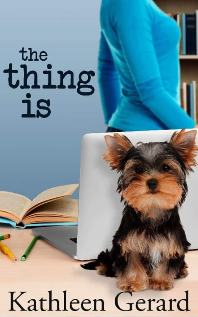 "Kathleen Gerard will discuss ""The Thing Is"" at the library on Oct. 17."