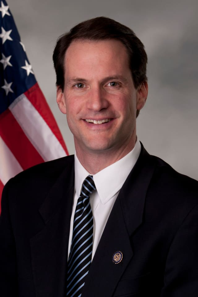 Rep. Jim Himes will speak on Wednesday, Feb. 22 at a meeting of the Retired Men's Association of Greenwich.