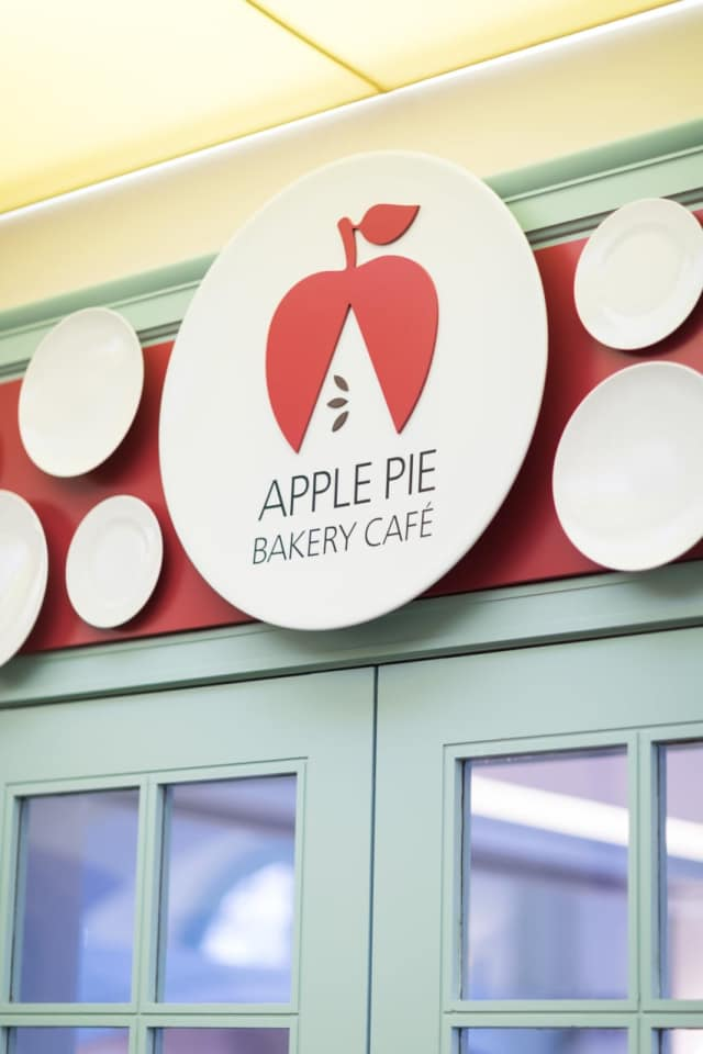 The new Apple Pie Bakery Cafe.