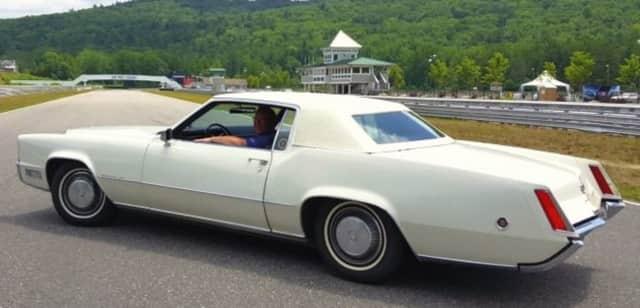 A classic Cadillac.