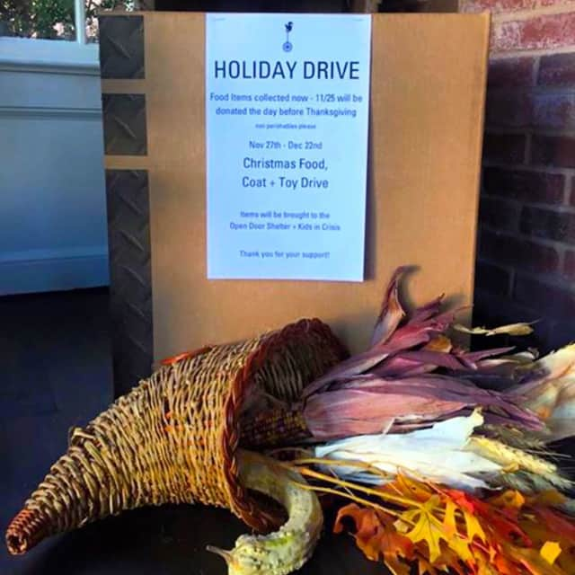 Norwalk's Oak + Almond is running a holiday drive to help Kids in Crisis and the Open Door Shelter.