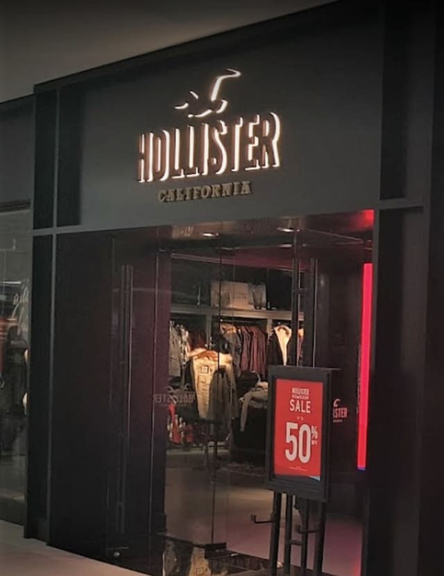Accident or arson? There was no initial indication from authorities of either at the Hollister store in the Willowbrook Mall in Wayne.
