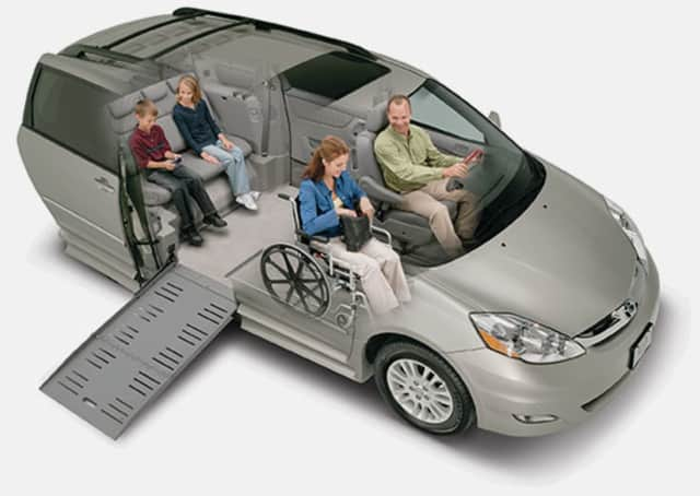 The grant will pay for the purchase of another adapted van to help patients with mobility issues.
