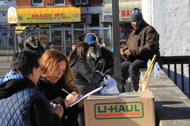 Passaic County conducted its annual point-in-time homeless count this week.