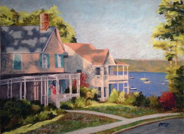 Works by featured artist Joyce Brynes will be on display at the Edward Hopper House Art Center in Nyack during the month of December.