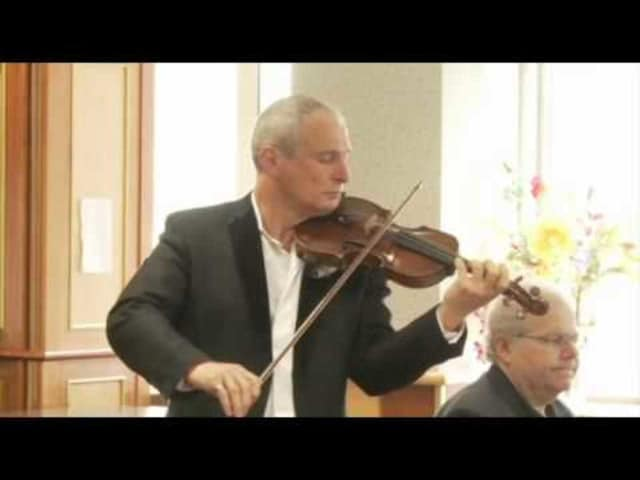 Acclaimed violinist David Podles will perform Dec. 4 at the River Vale Free Public Library.