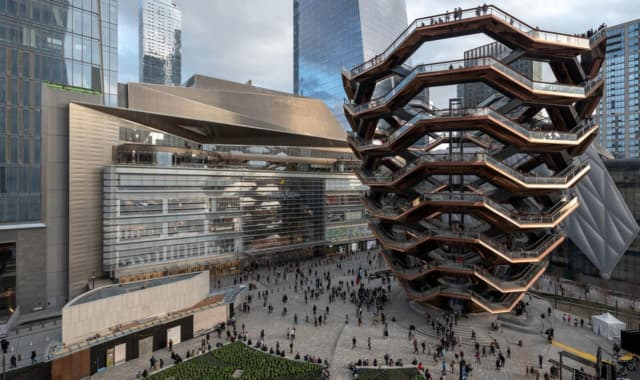 The $25 billion Hudson Yards, which officially opened just west of Chelsea and Hell's Kitchen in March, features skyscrapers, a mega mall and more.