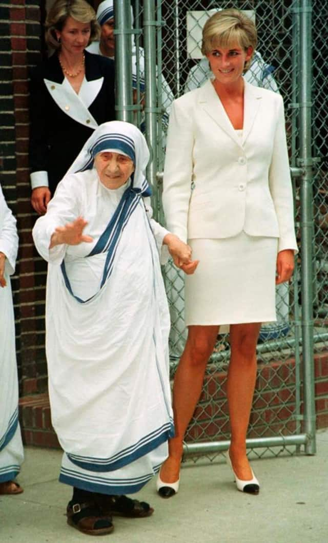 Mother Teresa (1910-1997) and Princess Diana (1961-1997) were advocates of International Human Rights Day, celebrated annually Dec. 10.