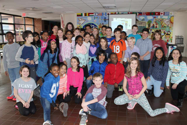 Pocantico Hills School 5th grade students recently studied human rights and the Human Rights Declaration of 1948 as part of their social studies class.