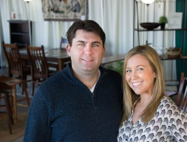 Stamford residents Chris Meier and Beth Patterson-Meier, owners of Against the Grain.