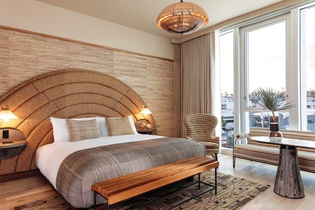 Room at The Proper Santa Monica. Courtesy The Ingalls.