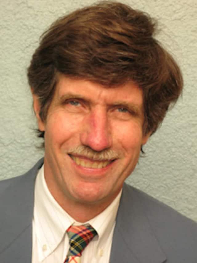 Ian Banks is running for village trustee in Pomona.