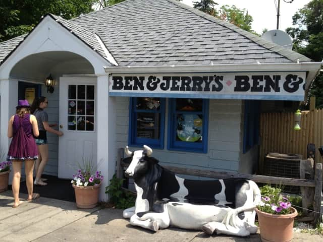 Ben & Jerry's is a popular spot for Chappaqua  residents.